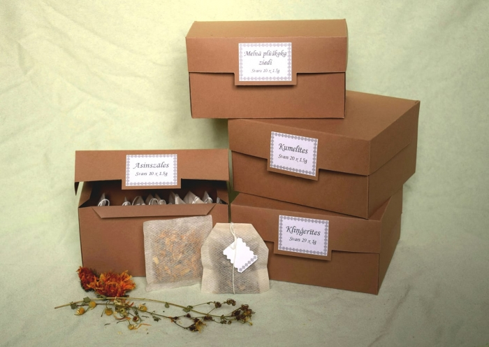 Lienes ārstniecības augi/zāļu tējas