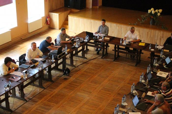 Domes sēde un iedzīvotāju tikšanās ar Dienvidkurzemes novada domes deputātiem Rucavā