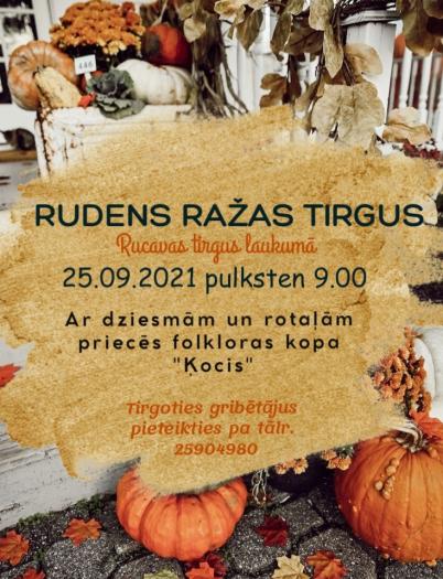 RUDENS RAŽAS TIRGUS