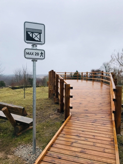 """Realizēts projekts """"Sventājas upes ielejas un Muižas kalna labiekārtošana  un stāvlaukuma izbūve"""""""